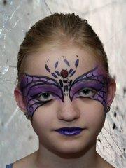 Lila Spinne #2