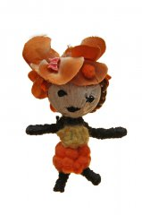 Voodoo Dolls - Red Floral 1